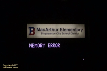 MacArthur Elementary School - Error Sign