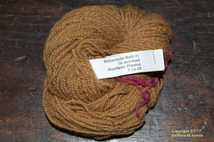 East Friesian handspun yarn