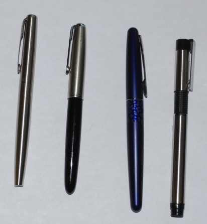 Fountain Pens, Capped